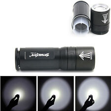 MINI 4000LM CREE XML T6 3mode Flashlight 18650/26650 Battery ZOOMABLE FOCUS Lamp