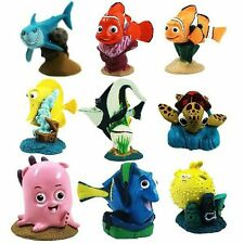9pc Set Disney Dory Deluxe Finding Nemo Christmas Ornaments Figure Marlin Bruce