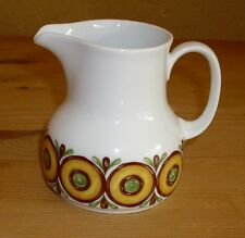 Winterling  Röslau 1 Milchkännchen  mit Dekor, braun, grün, gelb