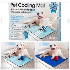 Pet Cooling Cooler Mat Dog Cat Summer Cool Gel 60cm x 44cm
