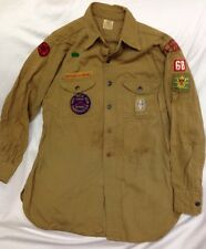 Vintage 1940s Eagle Scout Boy Scouts BSA Shirt Badges Patches
