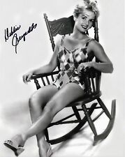 Debbie Reynolds signed sexy 8x10 photo / autograph