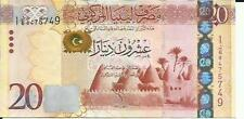 Libya 20 Dinars 2013 P 79. Unc Condition. 4Rw 25Gen