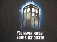 Doctor Who British Sci Fi Television Show Fan Funny Humor Black T Shirt M