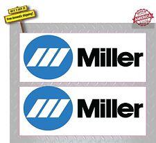 WELDER Miller Welder Pair (2 Decals) Welder Decal Sticker Made in America