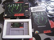 SNES Alien 3 (with box & manual) NTSC US