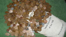TWO rolls of WHEAT PENNY'S! Possibly 1909 TO 1958D! A Nice Mix Of Teens to 50's