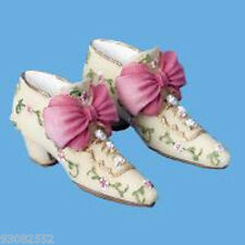 Butlers dollhouses Miniature-- Shoes-Cream & Pink  - craft projects