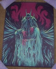 BATMAN comic movie poster print DEVIL NYCC 2015 Godmachine dark knight