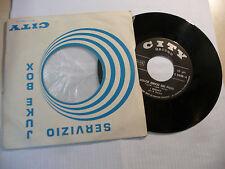 """I BISONTI""""DOLCE AMICO DEI FIORI-disco 45 giri CITY Italy 1968"""" BEAT Italy"""