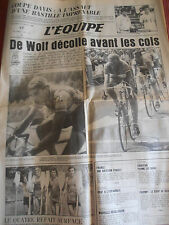 JOURNAL L'EQUIPE TOUR DE FRANCE DE WOLF DECOLLE / FIGNON  1984 (A)
