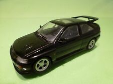 MINICHAMPS 82100 FORD ESCORT RS COSWORTH - DARK ANTHRACITE 1:43 - GOOD CONDITION