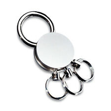 Round Multi Keyring with Large Clip (3 Detachable Rings) KRG518