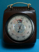 Thommen 5000m Altimeter & Barometer in Leather Case with original instructions.