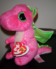 "Ty Beanie Boos - DARLA the 6"" Dragon ~ NEW for 2016 ~ Very Cute ~ IN HAND"