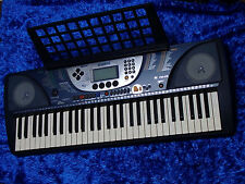 YAMAHA PSR-270 Keyboard vintage synth with stand and pedal