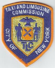 New York City Taxi & Limousine Commission Enforcement Police Patch NYC TLC NY