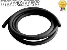 AN -12 (12AN JIC) Socketless Push On Fuel / Oil / Coolant Hose 1 Meter In BLACK