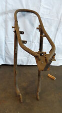 TRIUMPH T150 TRIDENT 3 CYLINDER  REAR SUBFRAME, USED, DAMAGED, BUT REPAIRABLE.