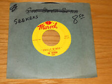 """60s FOLK ROCK 45 RPM - THE SEEKERS - MARVEL 1060 - """"CHILLY WINDS"""""""