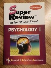 Super Reviews Study Guides: Psychology I by Research and Education...