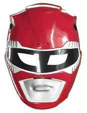 Red Ranger Mask Mighty Morphin Power Rangers Halloween Adult Costume Accessory