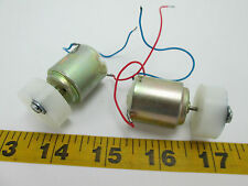 Lot of 2 Mabuchi Motors Animation Electric Science Fair Experiments Lab T