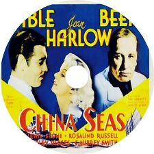 China Seas (1935) Clark Gable Jean Harlow V Rare Dvd
