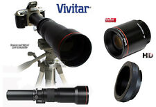VIVITAR 650-2600mm Telephoto Lens for NIKON D5500 D4s D810 D750 D610 D7200 D7100