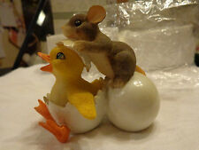 """Charming Tails """"DUCKY TO MEET YOU"""" Fitz and Floyd EASTER"""