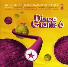Vol. 6-Disco Giants - Disco Giants (2012, CD NIEUW)2 DISC SET