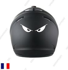 STICKER AUTOCOLLANT CASQUE MOTO SCOOTER QUAD YEUX MONSTER