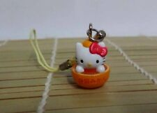 Hello Kitty Cosplay Orange Kitty CellPhone Strap Charm