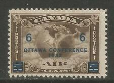 Canada 1932 Ottawa Conference Airmail--Attractive Topical (C4) MH