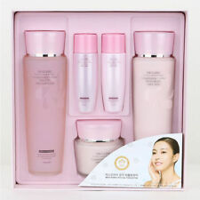 3W CLINIC Flower Effect Extra Moisturizing Skin Care 3Set,bright,gift Mask Pack