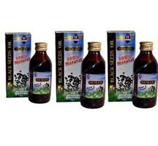 HEMANI BLACK SEED OIL 100% PURE NIGELLA SATIVA PACK OF 3 Cheap Price
