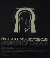 Black Rebel Motorcycle Club - 2 Sided Uk  Display Promo Flat Rare