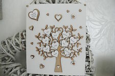 Personalised handmade Family tree wall plaque gift keepsake Wall Sign Christmas
