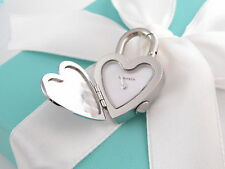 New Tiffany & Co Return To Heart Watch Padlock Charm Necklace Bracelet Box Pouch