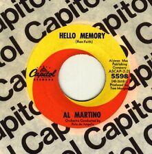 Al Martino Hello Memory - Guaranteed Original -  New Old Stock