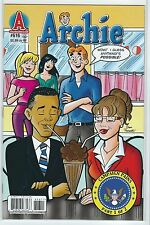 ARCHIE #616 BARACK OBAMA and SARAH PALIN Cover First Print UNREAD MINT