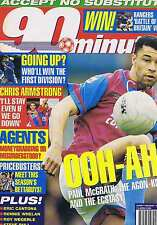 PAUL McGRATH / ERIC CANTONA / RONNIE WHELAN 90 Minutes no. 149 10 April 1993