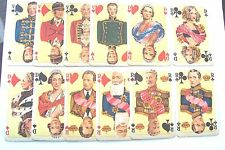 PLAYING CARDS VINTAGE NON STANDARD COURTS CARDS ONLY A SET OF 12 RARE CARDS