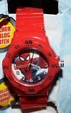 MARVEL Ultimate Spider-Man Web-Warriors Wrist Watch, Red (Dented Packaging)