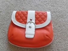Brand New Grace Adele Elegant Leigh Orange Clutch with tags on