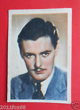 actors acteurs figurine cards nestle stars of the silver screen 74 hugh williams