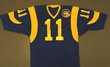 Team Issued Jim Everett 1988 Jersey With Patch and Autograph LA Rams Los Angeles