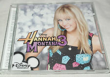 CD Album  Hannah Montana 3 Original Soundtrack Soundtrack OST