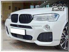 Front Hood Glossy Black Replacement Grille Kit for BMW 2014+ F25 X3 LCI Facelift