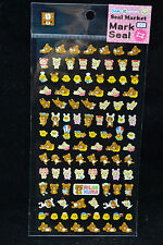 San-X Rilakkuma Seal Marking Stickers SE02802